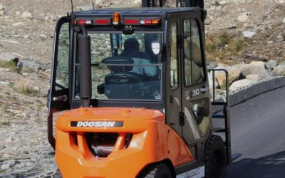 Petol  har  fornya  maskinparken  med  ein  ny  3  tonn  DOOSAN  gaffeltruck.