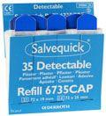 Salvequick  plaster næringsmiddel (blå)