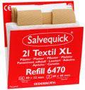 Salvequick Tekstilplaster store 21stk REF 6470
