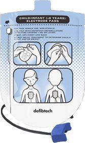 Lifeline Hjertestarter elektrodesett barn