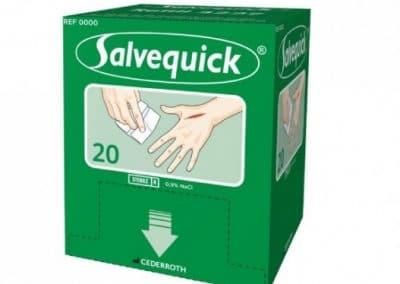 Sårvask Salvequick sårserviett refill 323700 (til 490900)