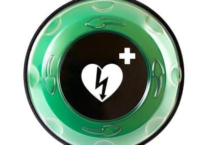 Hjertestarter skap med varme Rotaid Solid Pluss