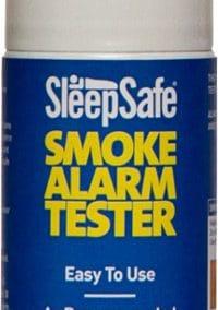 Testgass til røykvarslar