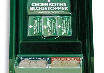 Cederroth Førstehjelpsvegg mini Art.nr: 712610