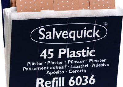 Salvequick Plaster refill 45stk REF 6036 Art.nr: 763589